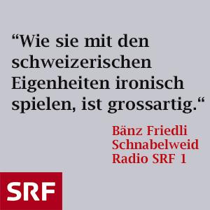 Bänz Friedli Schnabelweid
